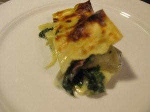lasagne aux bettes